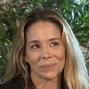 Danielle Winits chora ao falar sobre filhos e namorado: 'Abraçou minha história'