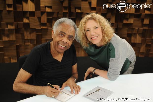 Gilberto Gil é o convidado do Marília Gabriela Entrevista, no GNT