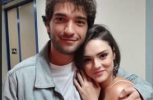 'Sangue Bom': Giane e Fabinho contam aos pais que estão namorando