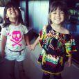 Antônia e Sofia, filhas de Giovanna Antonelli, comemoram três anos nesta terça-feira e ganharam homenagem da mãe no Instagam