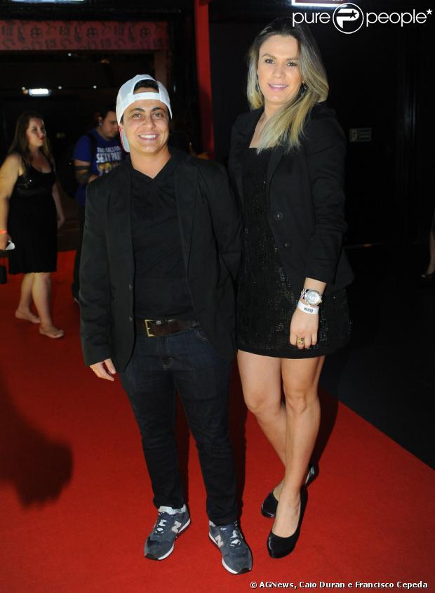 Thammy Miranda e sua namorada, Nilceia, participam da Festa de 13 anos da Revista 'QUEM Acontece', em 15 de outubro de 2013