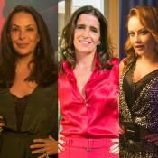 Carolina Ferraz, Malu Mader e Ellen Rocche serão inseparáveis em 'Haja Coração'
