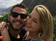 Ex-BBB Matheus posa coladinho com namorada, Cacau, em ensaio: 'Aconchego'. Fotos