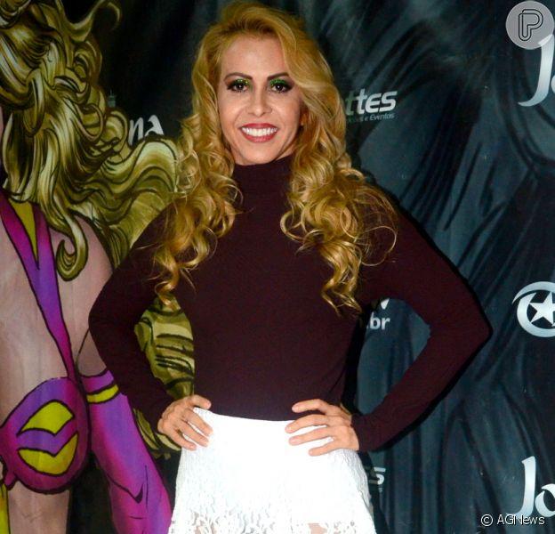 Joelma vai participar do 'Dança dos Famosos', um dos quadros do 'Domingão do Faustão'