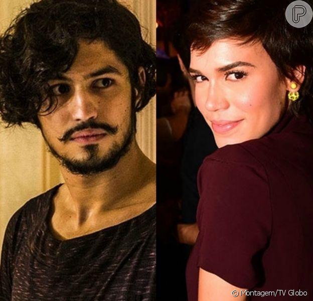 Gabriel Leone e Carla Salle foram flagrados juntos em um cinema do Rio de Janeiro
