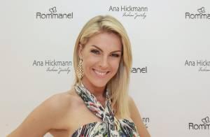 Ana Hickmann causa alvoroço ao lançar coleção de joias em shopping de Recife