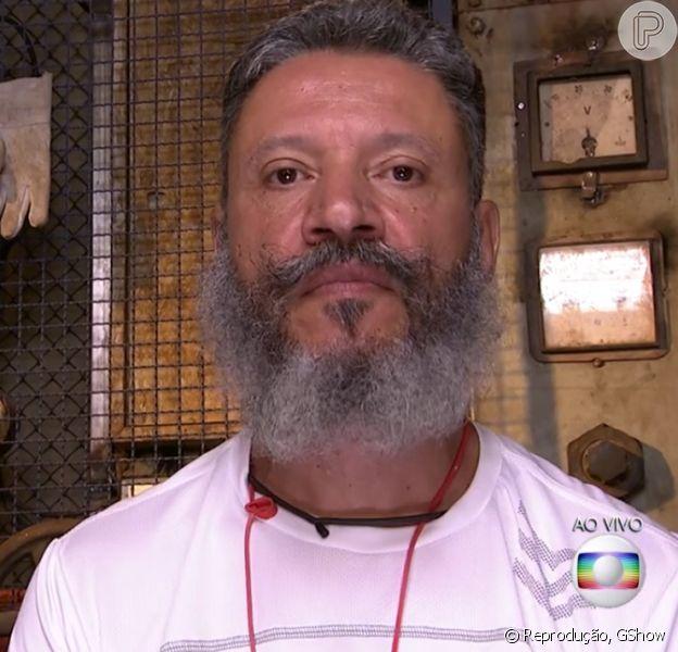 Laércio já era investigado quando estava confinado na casa do Big Brother Brasil 16