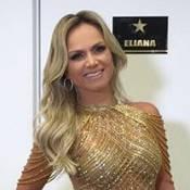 Eliana e Paula Fernandes arrasam no look em gravação do 'Troféu Imprensa'