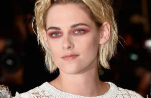 Rosto Chanel, Kristen Stewart usa makes e looks estilosos em Cannes. Fotos!