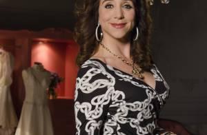 Marisa Orth completa 50 anos atuando em 'Sangue Bom' e satisfeita com o corpo