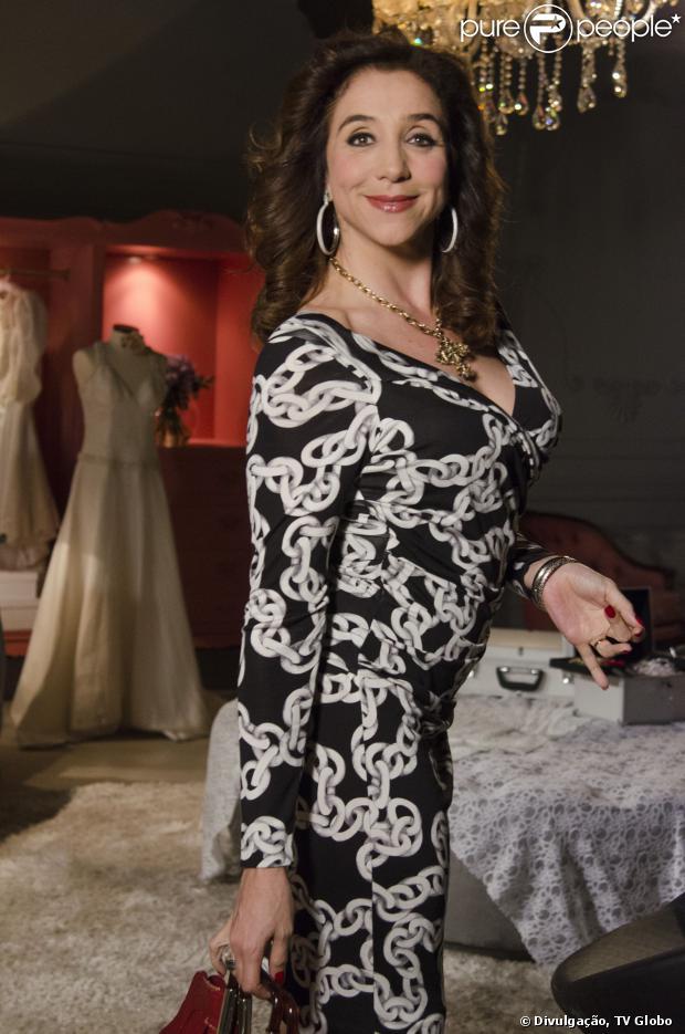 Marisa Orth comemora 50 anos nesta segunda-feira, 21 de outubro de 2013