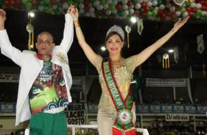 Christiane Torloni é coroada rainha de bateria da Grande Rio: 'Grande honra'