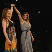 Cristiana Oliveira recebe Renata Ceribelli e outros famosos em estreia de peça