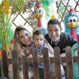 Wanessa e Marcus Buaiz já são pais de José Marcus, de 1 ano e 10 meses