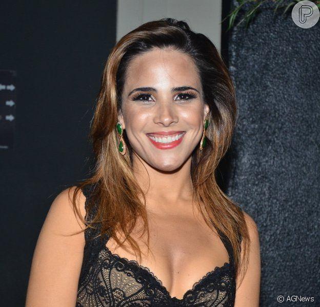Wanessa está grávida de dois meses do segundo filho com Marcus Buaizm segundo a colunista Mônica Bergamo, da 'Folha de S. Paulo', em 24 de outubro de 2013