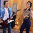 Mariana Rios cantou recentemente em uma campanha de uma marca de sabonetes, mas descarta voltar ativamente à profissão: 'Minha vida agora é atuar'