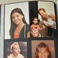 Fotos da infância de Mariana Rios em Araxá (MG)