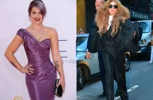 Lady Gaga e Kelly Osbourne trocam farpas pelo Twitter após bolo em programa
