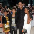 Will Smith e Jada Pinkett-Smith são pais de Willow e Jaden Smith