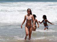 Lavínia Vlasak e Amora Mautner exibem corpos sarados em dia de sol no Rio
