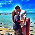 Preta Gil publica foto beijando Rodrigo Goduy, em seu Instagram, em 3 de novembro de 2013