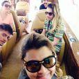 Preta Gil viaja Rodrigo Godoy e amigos