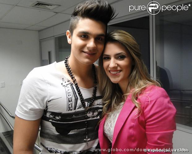 Luan Santana termina namoro com a estudante de moda Jade Magalhães. O cantor contou à revista 'Caras' que está magoado, em 5 de novembro de 2013