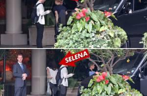 Justin Bieber e Selena Gomez são vistos juntos em hotel de Los Angeles