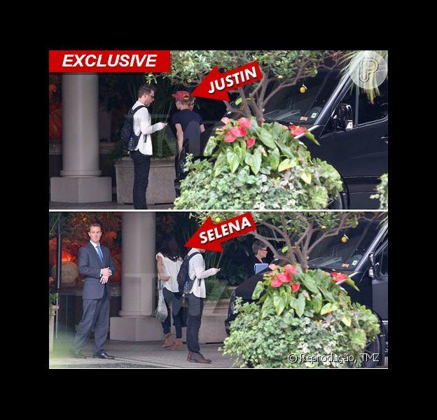 Justin Bieber e Selena Gomez são flagrados juntos