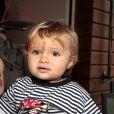 Bento, neto de 1 ano da apresentadora Ana Maria Braga, garoto-propaganda da grife infantil Seal Kids