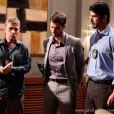 Anjinho (Lucas Malvacini) é preso, em 'Amor à Vida'