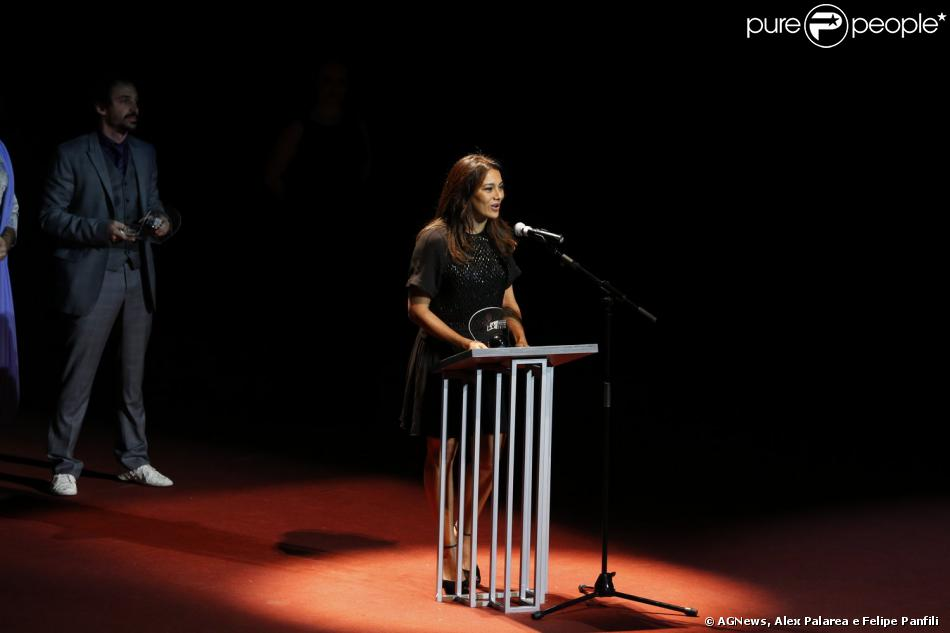 Dira Paes é eleita Melhor Atriz no XII Grande Prêmio do Cinema Brasileiro 2013, nesta quarta-feira, 13 de novembro de 2013