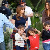 Jennifer Lopez recebe os filhos gêmeos durante filmagem de 'The Boy Next Door'