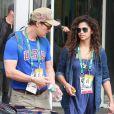 O casal está no Rio de Janeiro para conferir a Olimpíada Rio 2016