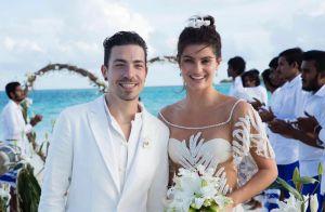 Isabeli Fontana e Di Ferrero se casam em cerimônia discreta nas Maldivas. Fotos!