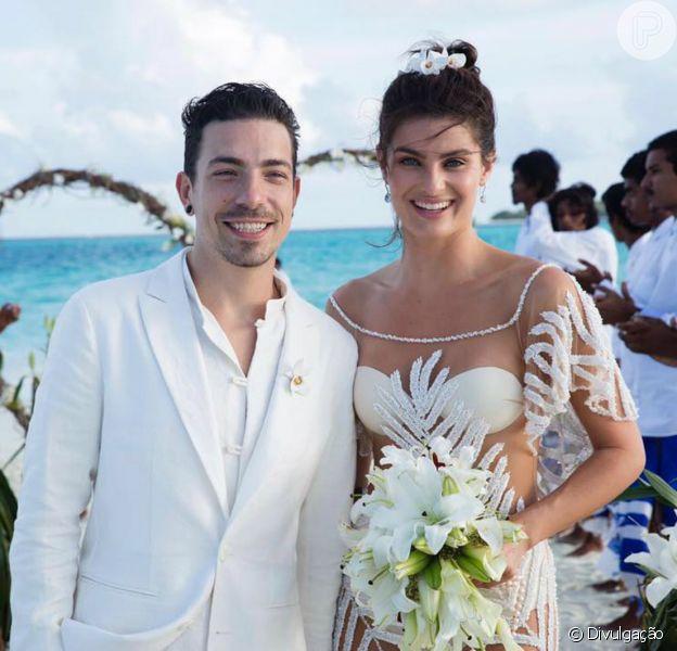 Isabeli Fontana e Di Ferrero se casam em cerimônia discreta nas Maldivas nesta terça-feira, dia 09 de agosto de 2016