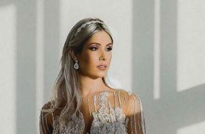 Mulher de Wesley Safadão volta ao Instagram com foto de casamento com cantor