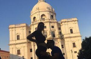 Grávida, Kelly Key curte viagem com marido em Portugal: 'Barriga cresceu'. Vídeo