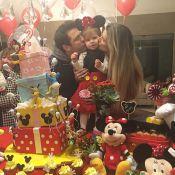 Ceará e Mirella Santos festejam aniversário de 2 anos da filha, Valentina. Fotos