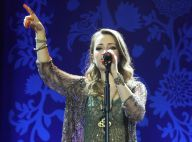 Sandy apresenta o show 'Sim', em São Paulo, com mãe e cunhada na plateia