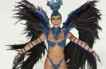 Sabrina Sato grava vinheta para o Carnaval 2014, no Rio; veja fotos