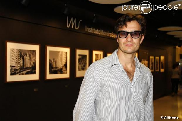 Gabriel Braga Nunes vai a pré-estreia do filme 'Anita e Garibaldi', na noite desta terça-feira, 3 de novembro de 2013, no Itaú Art Plex, no shopping Frei Caneca, em São Paulo