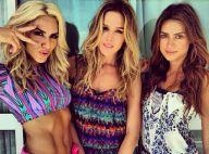 Thaila Ayala, Giovanna Ewbank e Fiorella Mattheis exibem corpos sarados na praia
