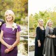 Paul Walker posa com os noivos e família