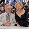 Steven Spielberg posou com Nicole Kidman na última edição do festival de Cannes, realizada no dia 15 de maio de 2013