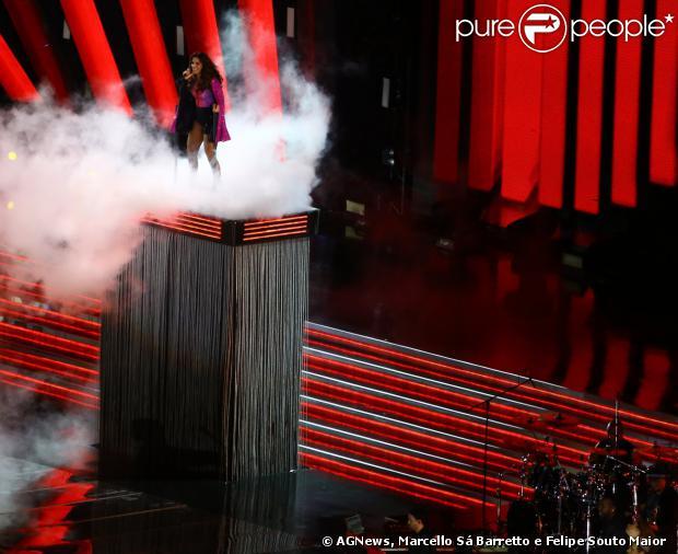 Ivete Sangalo gravou DVD comemorativos de 20 anos de carreira no Fonte Nova, em Salvador, na noite desde sábado, 14 de dezembro de 2013
