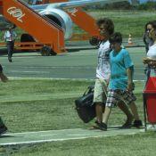 Pedro Bial viaja para Fernando de Noronha com os três filhos