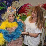 Susana Vieira e Christiane Torloni usarão fantasias de R$ 80 mil no carnaval