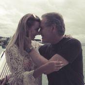 Roberto Justus aparece em foto romântica postada pela namorada: 'Sem palavras'