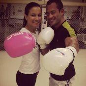Kyra Gracie sobre início de namoro com Malvino Salvador: 'Momento gostoso'